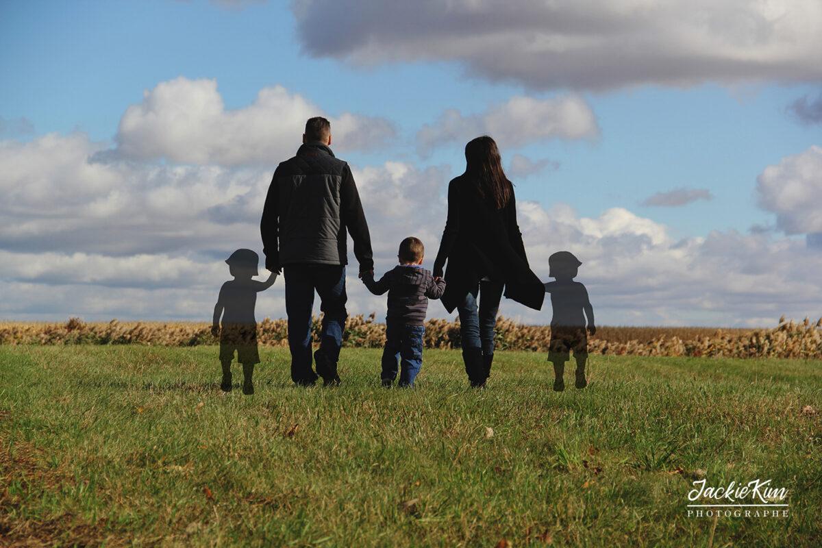 photographie hommage pour parents ayant vécu deuil périnatal